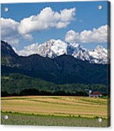 Spring In The Alps Acrylic Print