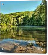 Spring Mill Lake Acrylic Print