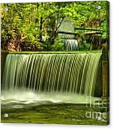 Spring Mill Spillway Acrylic Print