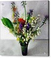 Spring Motley Acrylic Print