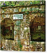 Spring Near Shrine To Mary-meryem Ana Evi-turkey Acrylic Print