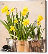 Spring Planting Acrylic Print