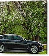 Spring Porsche Acrylic Print