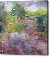 Spring Rains Acrylic Print
