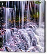 Spring Runoff At The Falls Acrylic Print