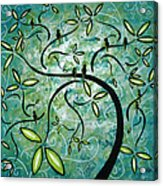 Spring Shine By Madart Acrylic Print by Megan Duncanson