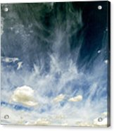 Spring Sky Acrylic Print by Andrea Dale