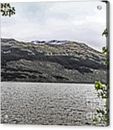 Spring Snow In The Highlands Acrylic Print
