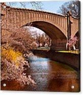 Spring - Springtime In Newark Acrylic Print