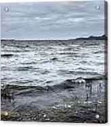 Spring Storm On Lake Champlain Acrylic Print