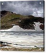 Mountain Lake Spring Thaw Acrylic Print