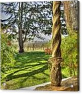 Spring Vineyards Acrylic Print