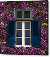 Spring Window Acrylic Print