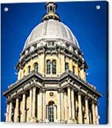 Springfield Illinois State Capitol Dome Acrylic Print