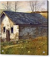 Springhouse Acrylic Print