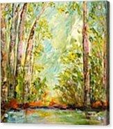 Springs Awakening Acrylic Print