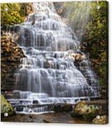 Springtime At Benton Falls Acrylic Print