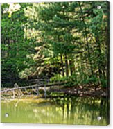Springtime At Crystal Lake Acrylic Print