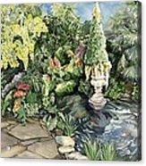 springtime at the Allan gardens Acrylic Print