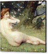 Springtime Acrylic Print by Charles Lenoir