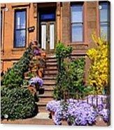 Springtime In Brooklyn Acrylic Print