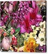 Springtime In Zebulon Left Acrylic Print