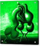 Springtime Passion Acrylic Print