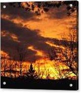 Springtime Sunset Acrylic Print