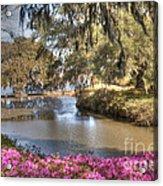 Springtime View Acrylic Print