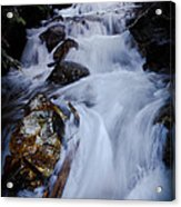 Springtime Waterfall Acrylic Print