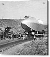 Spruce Goose Hull On The Move Acrylic Print