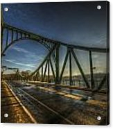 Spy Bridge Acrylic Print