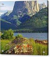 Squaretop Mountain 2 Acrylic Print