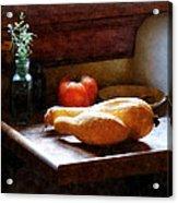Squash And Tomato Acrylic Print
