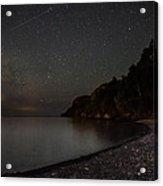 Squaw Bay At Midnight Acrylic Print