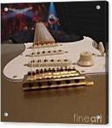 Squier Stratocastor Guitar - 3 Acrylic Print