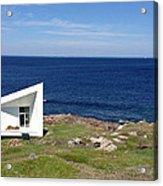 Squish Studio Tilting Fogo Island Newfoundland Acrylic Print