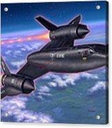 Sr-71 Blackbird Acrylic Print