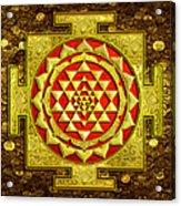 Sri Lakshmi Yantra Acrylic Print
