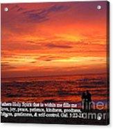 Sri Lankan Sunset Acrylic Print