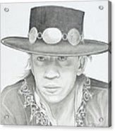 SRV Acrylic Print by Don Medina