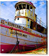 Ss Hurricane Camille Tugboat Acrylic Print