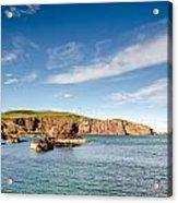 St Abbs Cliffs Acrylic Print