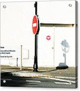 St. Aignan Signs And Shadows Acrylic Print