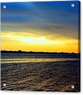 St Andrews Bay Sunset Acrylic Print
