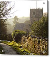 St Andrew's Church Clevedon Acrylic Print
