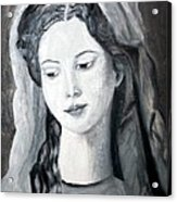 St. Anne - Value Work  Acrylic Print