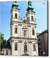 St Anne's Church In Budapest Acrylic Print
