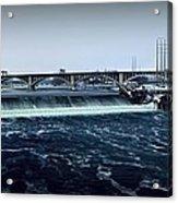 St Anthony Falls Minneapolis Acrylic Print