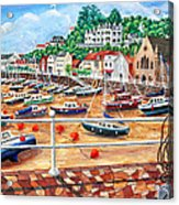 St Aubin's Harbour - Jersey Acrylic Print